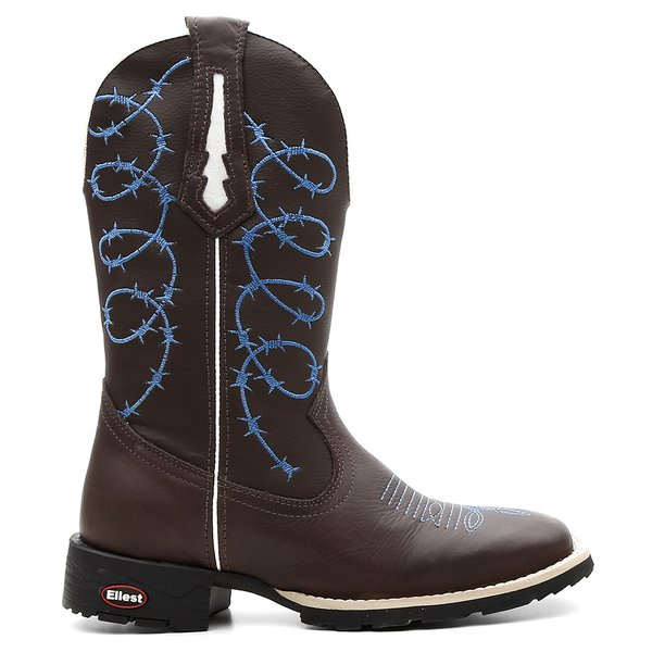 Bota Texana Feminina Blue Barbed Wire