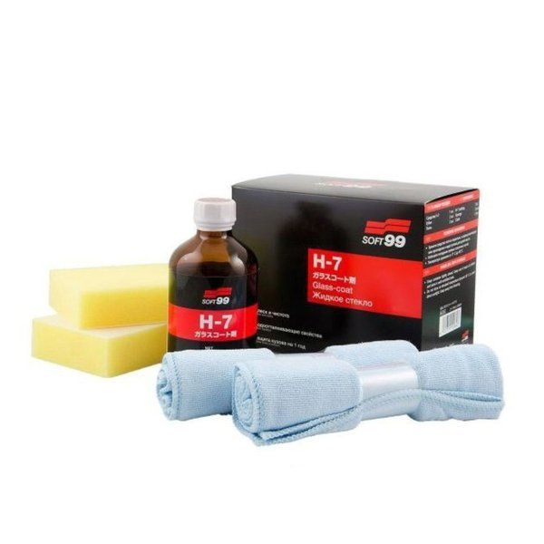 Vitrificador de pinturta H-7 GLASS- COAT - Soft 99 100ml
