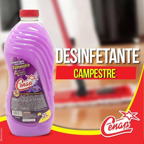 DESINFETANTE CAMPESTRE CENAP 6X2L LOJA