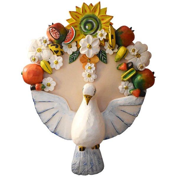 Divino Espírito Santo Arranjo com Frutas e Flores