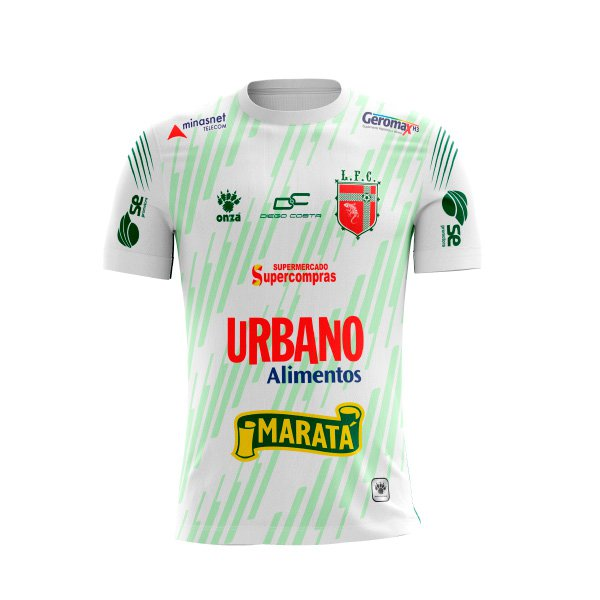 Camisa Lagarto Futebol Clube - Branca