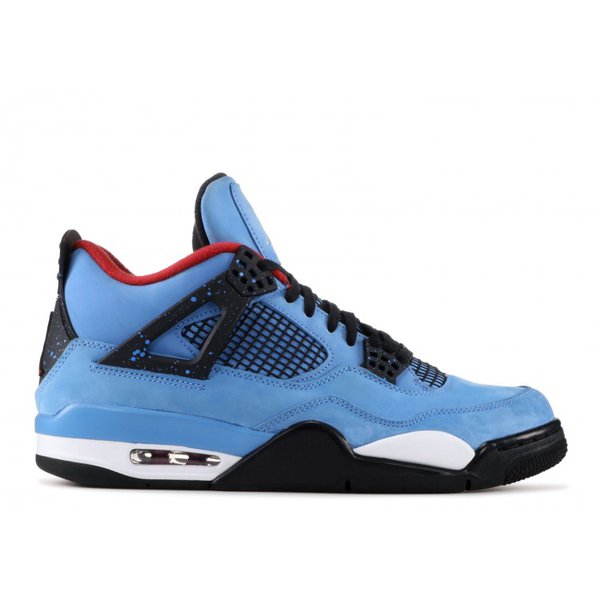 separation shoes 081fc c035b Tênis Air Jordan 4 Travis Scott Houston Oilers
