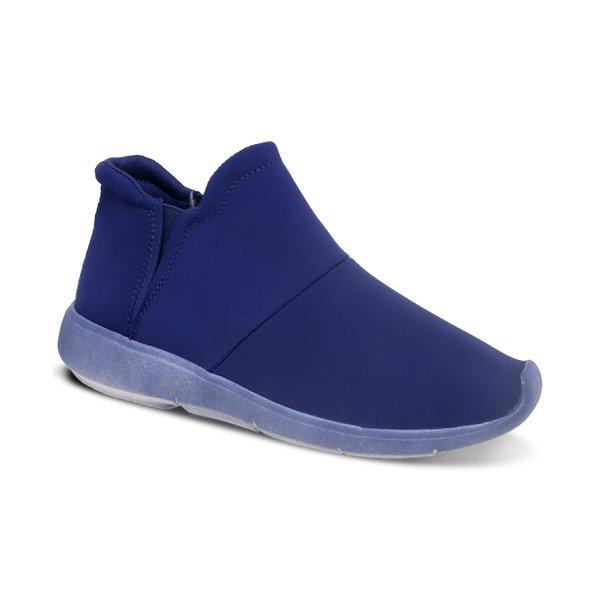 Tênis Boots Com Elástico Lateral Marinho