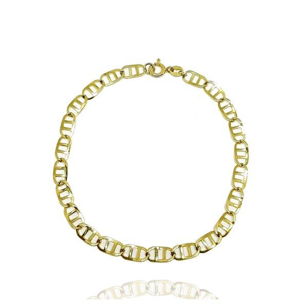 Pulseira Piastrine em Ouro 18k