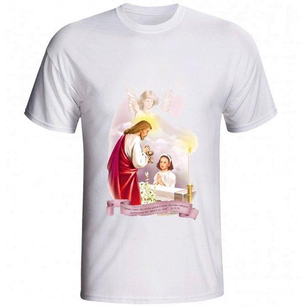 Camiseta Eucaristia Menina