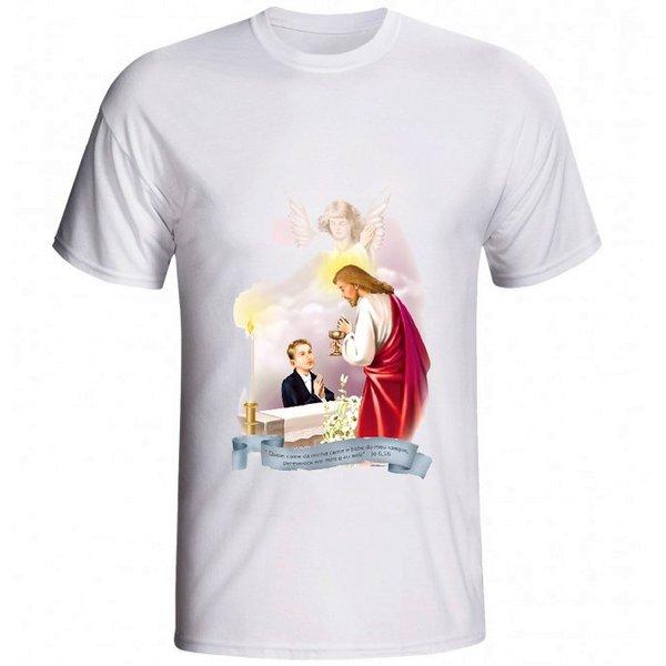 Camiseta Eucaristia Menino