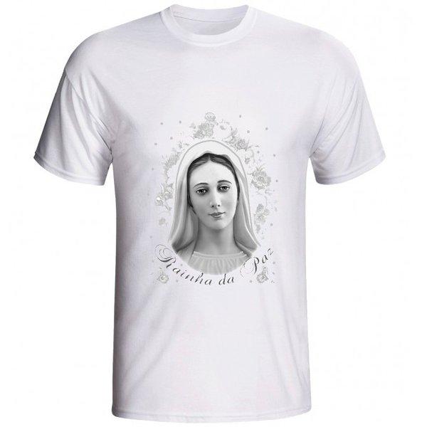 Camiseta Rainha da Paz Preto e Branco