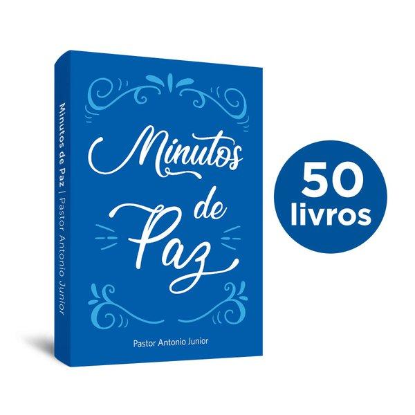 50 Livros de bolso Minutos de Paz