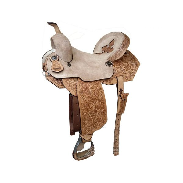 Sela de Couro Tambor - 10 Forma Protec Horse