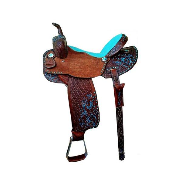 Sela de Couro Tambor - 17 Forma Protec Horse