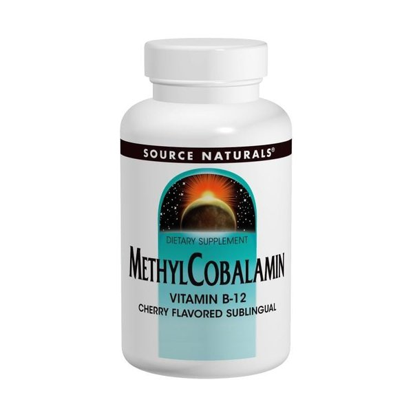 Methyl Cobalamin B12 - Source Naturals - 1 mg 240 Tablets