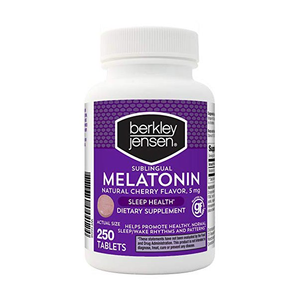 Melatonina sublingual - Berkley Jensen - 5 mg - 250 Comprimidos