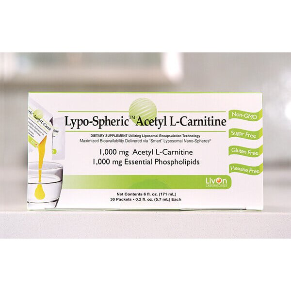 Acetil L-Carnitina Lipossomal - Livon