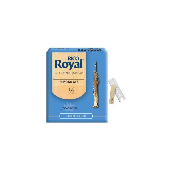 Palheta Para Sax Soprano Rico Royal