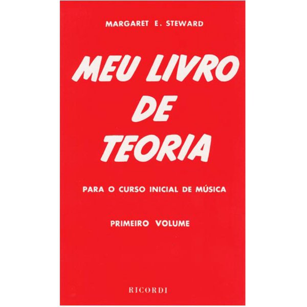 Método Meu Livro De Teoria - Margaret Steward