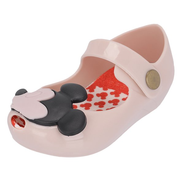 Sapatilha Infantil Mickey e Minnie Do 17 ao 24 Creme