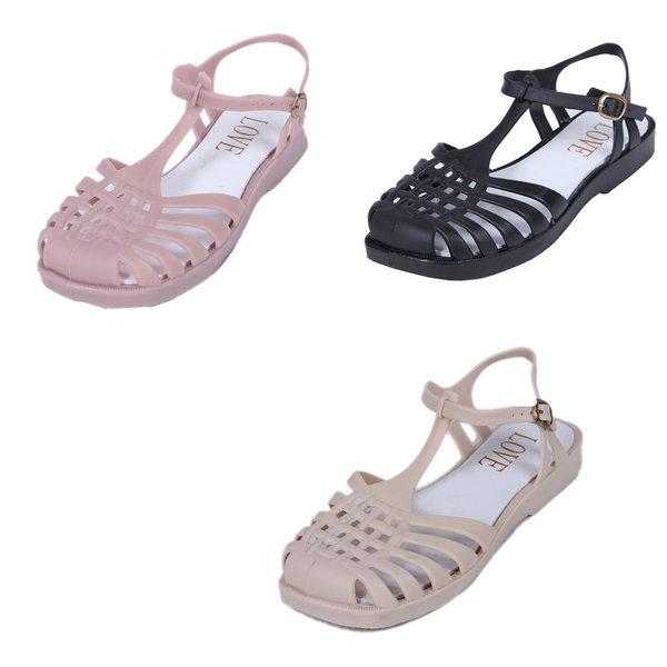 Kit Sandália Aranha - Selten - 3 sandálias nas cores preta, creme e rosa