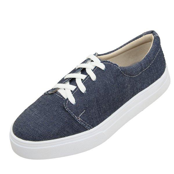 Tênis Selten Cadarço Feminino Jeans