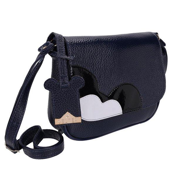 Bolsa Selten Mickey Transversal Azul Escuro