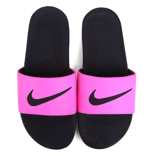 Chinelo Sandália Nike Kawa Slide Feminino Rosa Pink