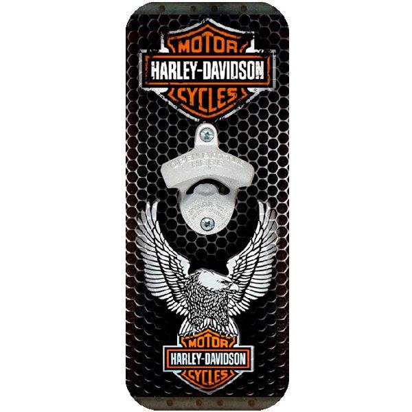 Abridor de Garrafa Parede Harley Davidson