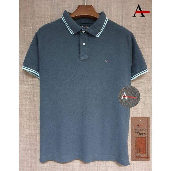 Camiseta Polo Aramis Cinza