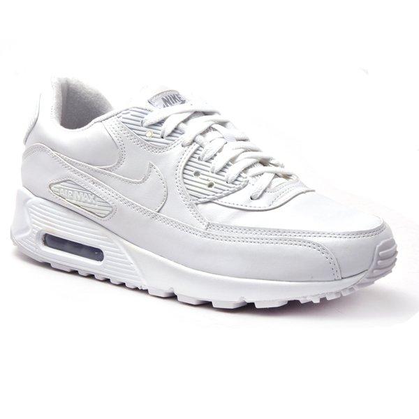 Tenis Nike Air Max 90 Couro Branco