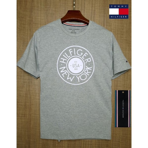 Camiseta TOMMY TH CINZA 2