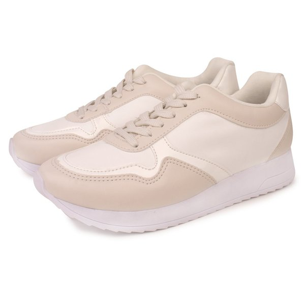 Tênis Trivalle Shoes Casual Off White/ Branco