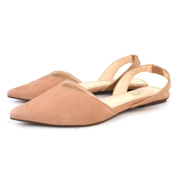 Sapatilha Trivalle Shoes Nobuck Nude
