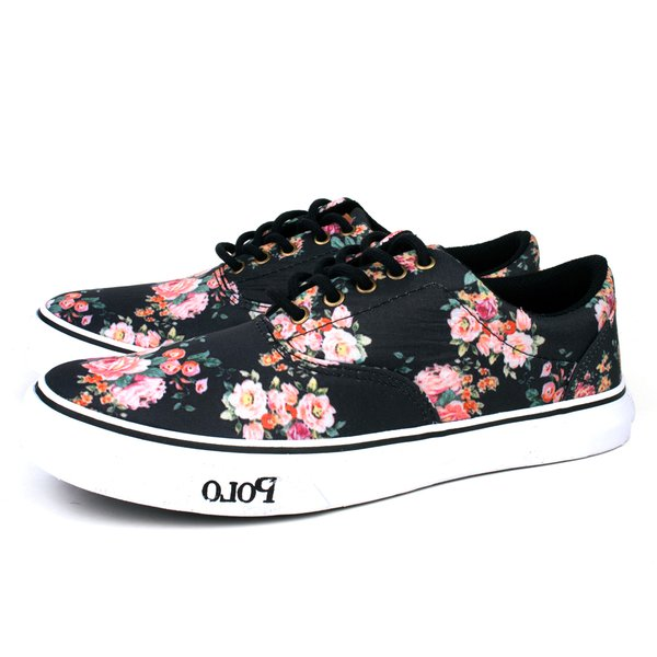 Tênis Polo Trivalle Shoes Floral