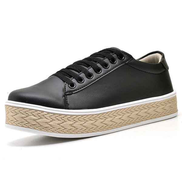 Tênis Casual Trivalle Shoes Preto