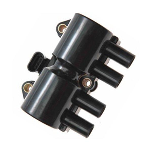 Bobina Ignição Corsa MPFI 1.0 8V, 1.0 16V, 1.6 8V e 16V 1998 a 2004 (Exceto Novo Corsa). Plug 4 terminais.