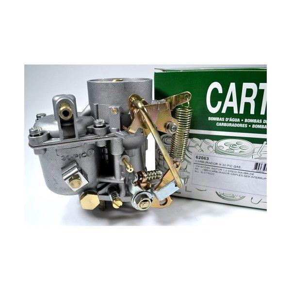 Carburador Fusca, Brasilia, Kombi motor 1300 a gasolina. Carburador Simples. Similar ao Brosol 112091