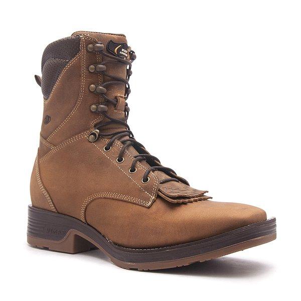 Tênis Country Masculino - Dallas Bambu / Café - Solado Strong Shock - Vimar Boots - 85022-A-VR
