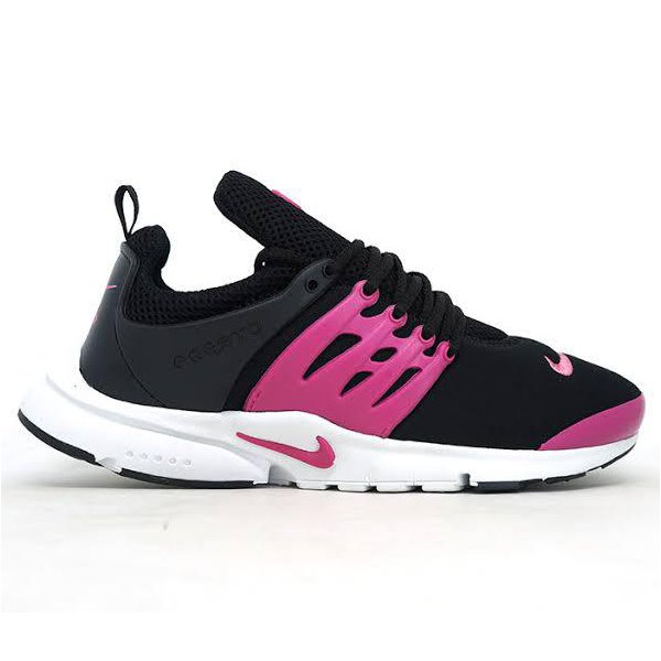 huge selection of 545b8 11f63 Nike Air Max Presto Feminino - Preto e Rosa