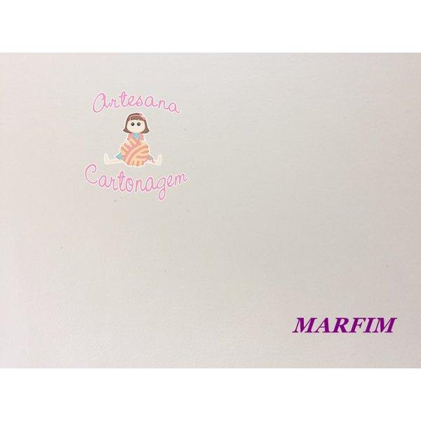 PVC (COURINO) MARFIM - 50 CM X 1,40 CM