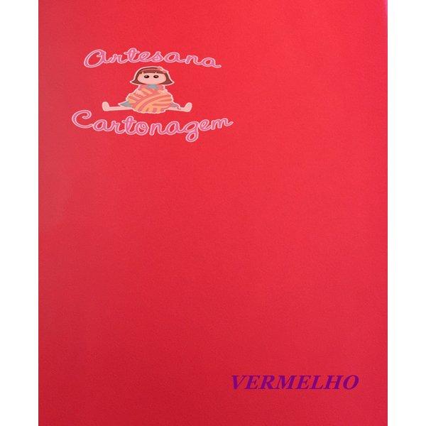 PVC (COURINO) VERMELHO - 0,35 CM X 0,50 CM
