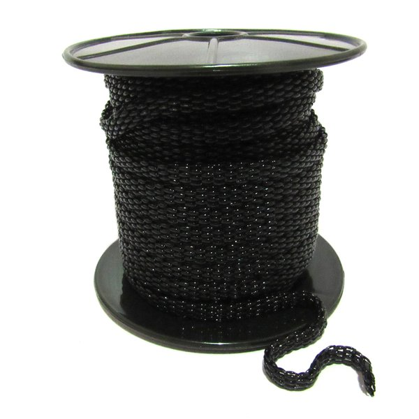 Corrente de Metal - Snake, Banho Black.