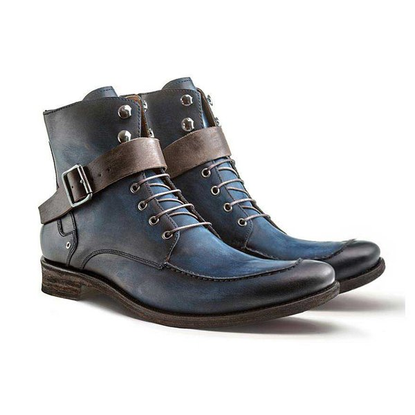BOTA MASCULINA PATRIOT STONE BLUE