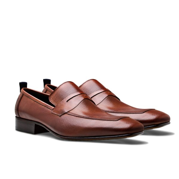 SAPATO MASCULINO LOAFER ROCHELLE WHISKY