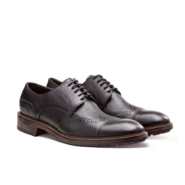 SAPATO MASCULINO BROGUE WORTH BLACK