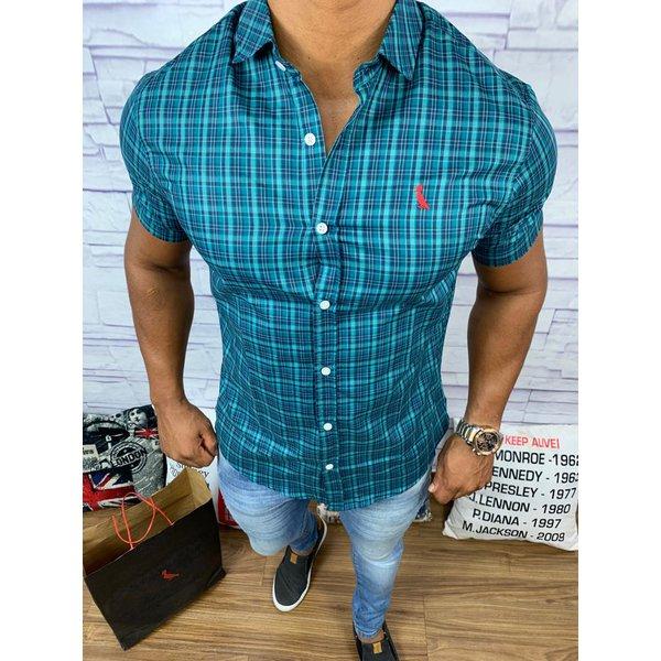 70059beec4a02 Camisa Manga Curta Reserva - Xadrez