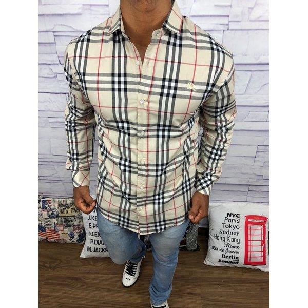 c78e34f2c0514 Camisa Xadrez Burberry