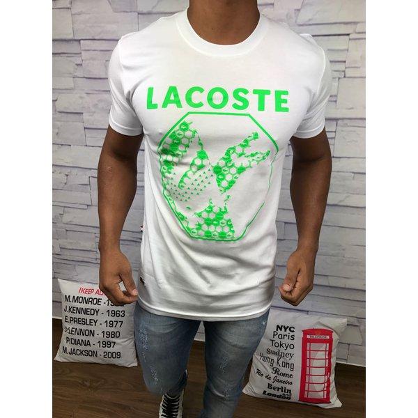 Camiseta Lacoste Estampada Lisa