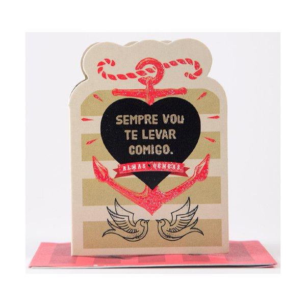 Cartão Mini Coisa de Pele