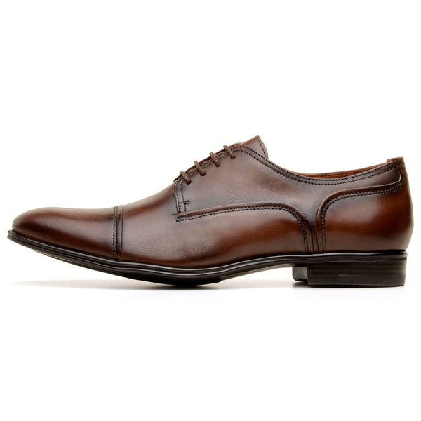 SAPATO SOCIAL MASCULINO DERBY CNS HARRY TERRACOTA