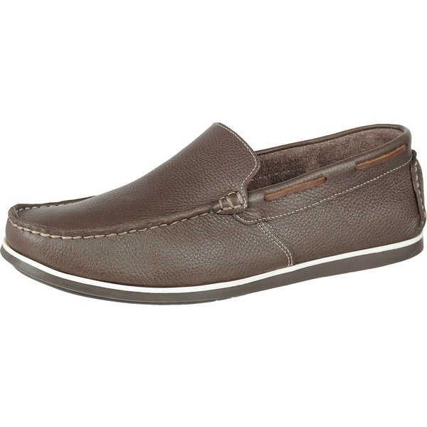 Mocassim Casual - Call Shoes - 30000 - Café