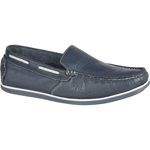 Mocassim Casual - Call Shoes - 30000 - Chumbo