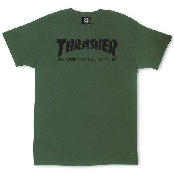 CAMISETA THRASHER SKATE MAG GREEN